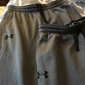 2 pair Under Armour UA Storm Armour Fleece pants